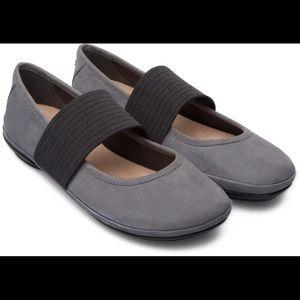 Camper Grey Ballerina Flats